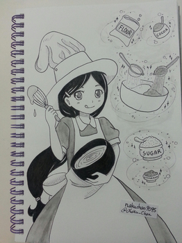 Inktober Day 27 - Cook Witch by nakuchan9095