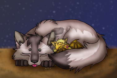 Little ones are asleep by Sinbadghost