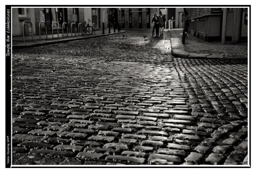 Temple Bar Cobblestones by stevendempsey