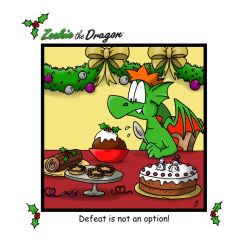 Christmas Pudding by ZookieDragon