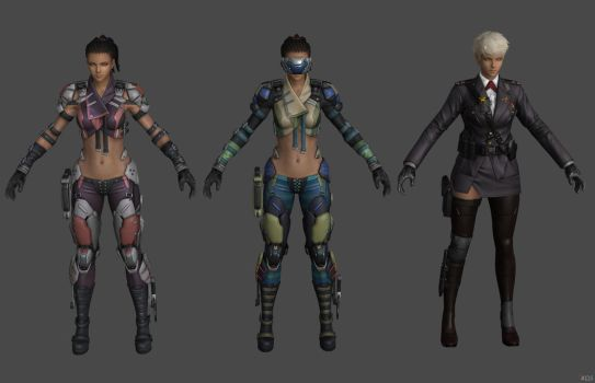 'Ghost in the Shell: First Assault' Maven 2 XPS!!! by lezisell