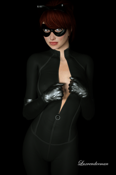 Isobel - No need for me to ask! by luxrenderman