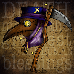 Plague Doctor, Death by K8e-Art