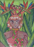 Flower Series - Orange Paradise by AngelicEmpyress