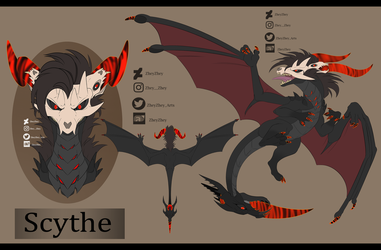 Scythe the Reaper Dragon by ZheyZhey