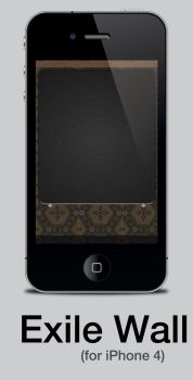 Exile Wallpaper for iPhone 4 by Pattulus