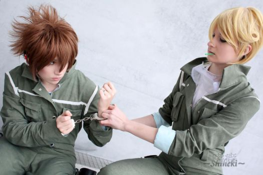 You will not go nowhere by Naru-Cosplay