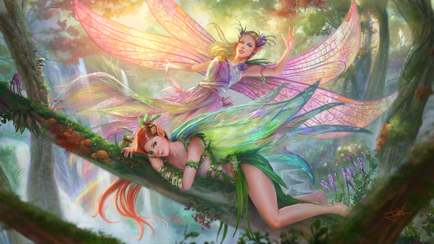 Fairies by tjota