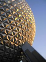 Sunset at Epcot by cgildea