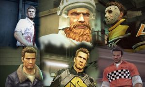 Dead Rising 2 The Many Unlockable Outfits by SOLIDCAL