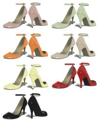 Ankle Strap Pumps by MikuPirate