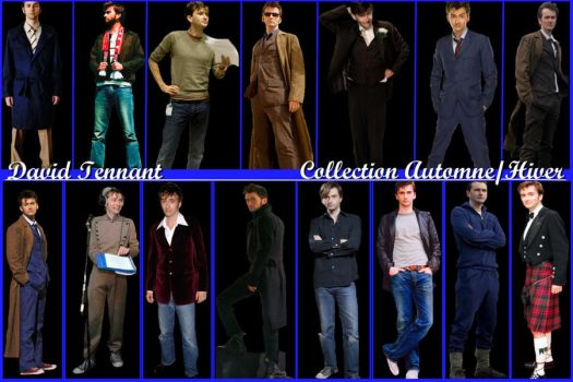 David Tennant Collection 2 by Amrinalc