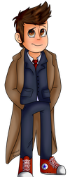 Doctor Who ~ The Doctor by Aritina