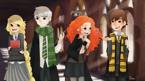 Hogwarts by h-Robun