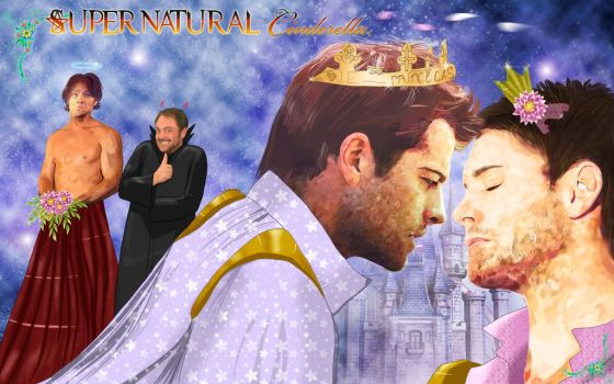 Supernatural - Cas and Dean by Youjin by YoujinTsukino