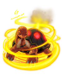 TORKOAL USED FLAME WHEEL by Gad by Dreamgate-Gad