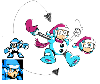 Flurry(formerly tundra)Man Revamp [concept sketch] by NeoMan95
