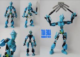 Toa Ekka by Tails-N-Doll