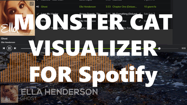 Monstercat Visualizer for Spotify 1.4 [FIXED BUGS] by Quakenxt