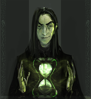 Head of Slytherin by Vizen