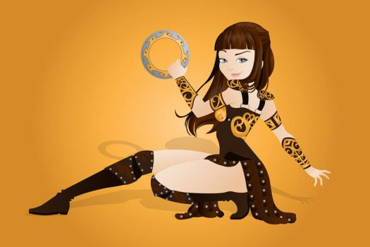Xena by Indy-Lytle