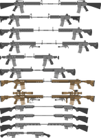 AR-10/AR-15 Derivitives Part-2 by TheFrozenWaffle