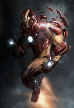 Iron Man Extremis Experiment by BillDinh