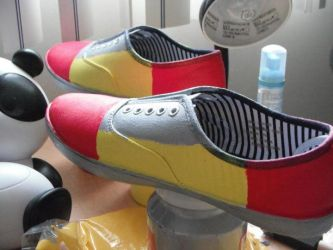 Knuckles shoes by Yugel
