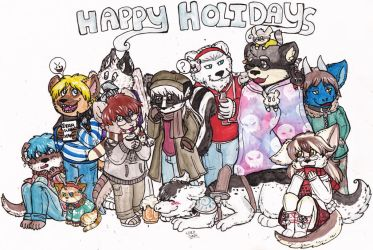 Holiday Party by Dollmancer