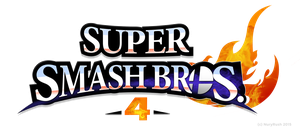 Super Smash Bros. 4 Logo Remade by NuryRush