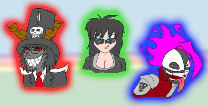 The Three Psychos by Chess-Man