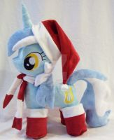 MLP Lyra Plush Christmas by Ponypassions by ponypassions