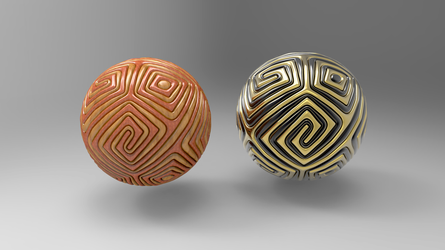 Simple Armored Ball 2 by Tate27kh