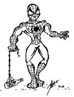 Cartoon Spiderman by Dremin