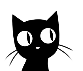 -Animated GIF- Auriel!Cat Sees and Knows ALL! by Miisu