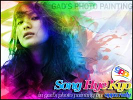 Song Hye Kyo by opparudy