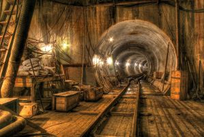 Sewer construction 5 by Ssaash