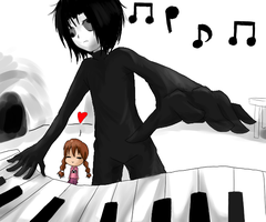 Play the Piano Masada Sensei by Luycaslima