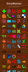 73 Icons Set by EmyWarrior