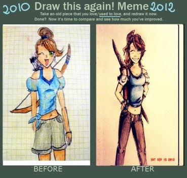 Draw this again meme- by VannyNuovaluna