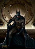 BATMAN (PEPSICARDS DC) by CarlosDattoliArt