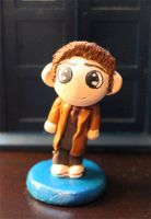 Chibi Tenth Doctor Figure by comicalclare