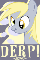 Derpy Hooves Poster v1.5 by Chingilin