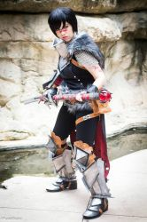 Champion of Kirkwall - Hawke - Dragon Age 2 by nekomatalee