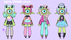 [outfit set] - Do7anii by hello-planet-chan