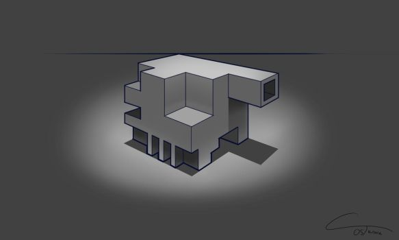 D34 - Perspective Box Rendered by ComplxDesign
