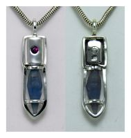 Ruby Blue Sapphire Pendant 2 by manwithashadow