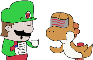 TJ ''Henry'' Yoshi Consults Derek about 2D PUs by SuperGarfieldBros