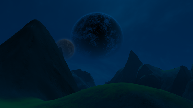 Night Scape by Flashed00