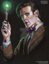 The 11th Doctor - Matt Smith by MonicaRavenWolf